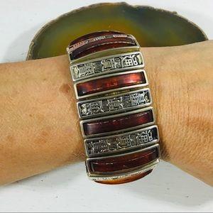 Vintage Stretch Cuff Bracelet